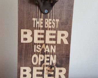 View All Available Bottle Openers here! https://www.etsy.com/shop/TheHonestAsparagus?ref=hdr_shop_menu&section_id=18573981   •This item ships