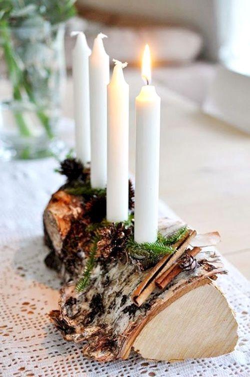 50 Ideen für skandinavische Birkenrinde und Birkenstamm Deko #adventskranzskand…,  #advents…