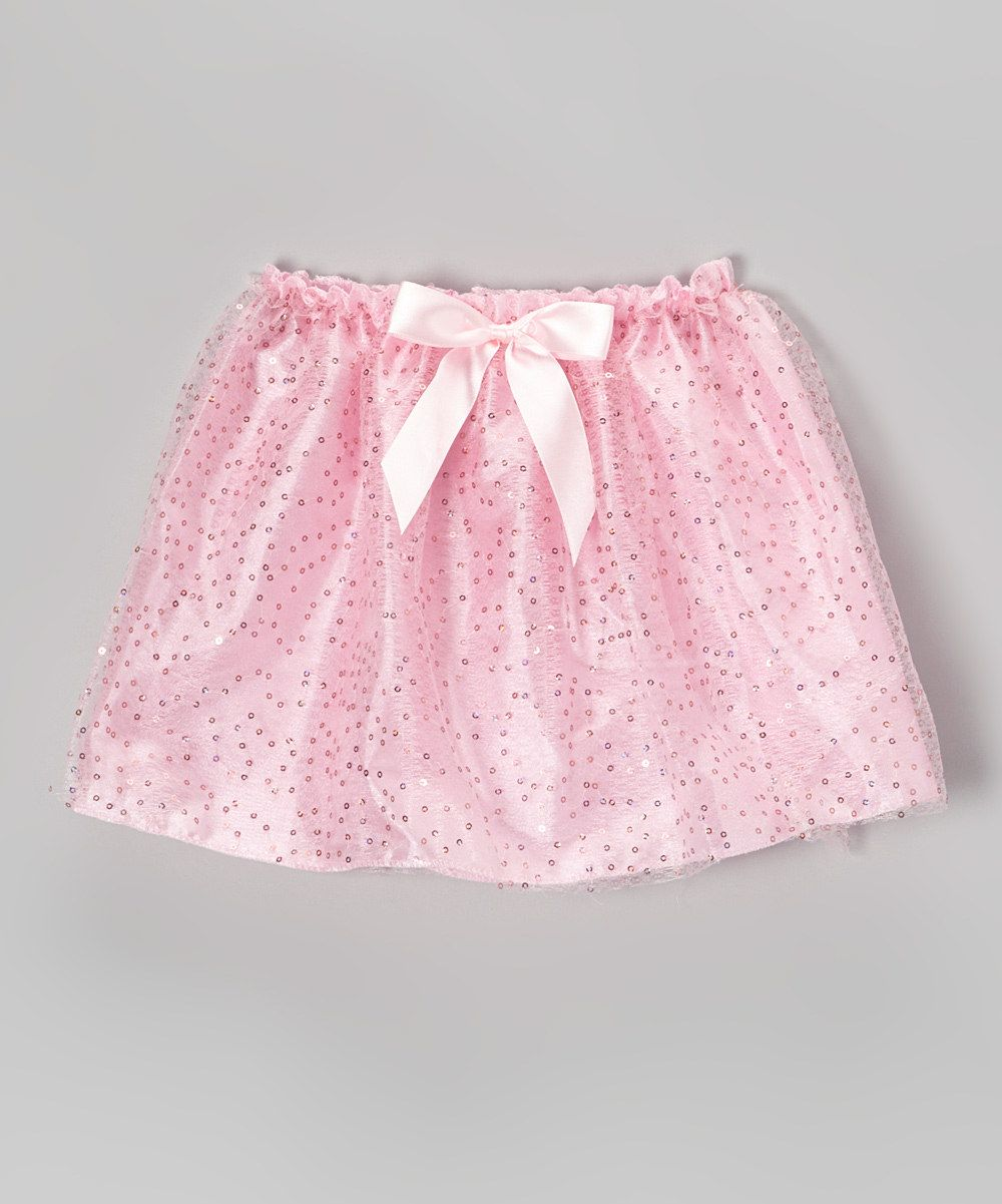Pink Sequin Bow Skirt - Looks simple enough to sew myself
