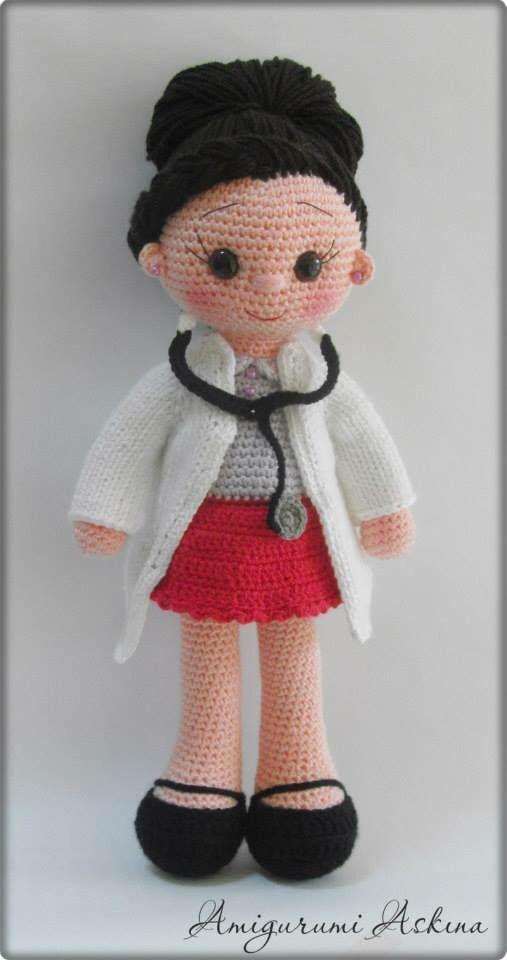 Poupée crochet | muñecos | Pinterest | Muñecas, Tejido y Patrones ...