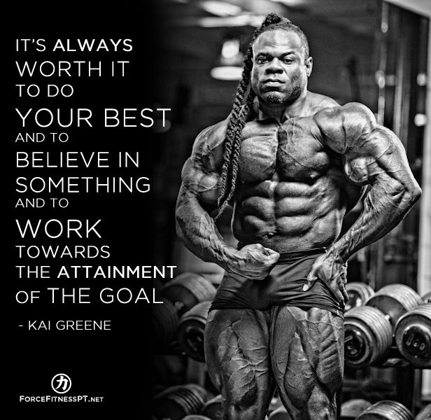 Pin By Shawn Thompson On Fitness Quotes: Kai Greene, Olympia, Bodybuilding, Muscle, Belief, Goals
