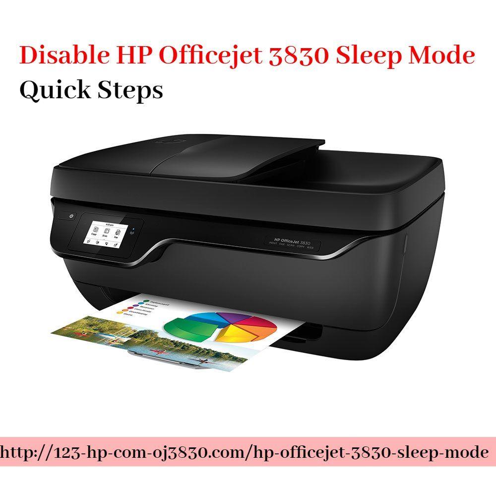 Disable Hp Officejet 3830 Sleep Mode Easy Way Hp Officejet Hp Printer Printer