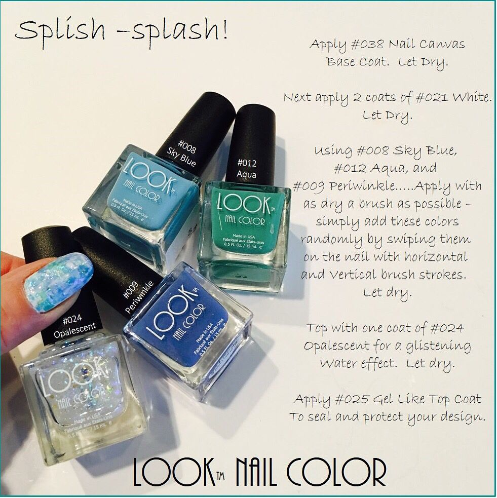 Get ready for the weekend with a #fun new #LOOK !! #howto #nailart ...