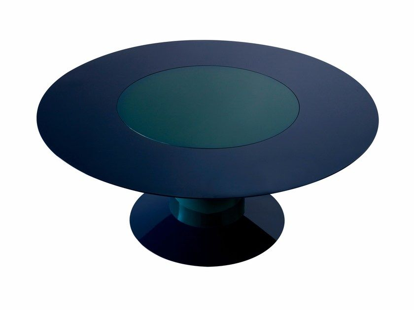 Download The Catalogue And Request Prices Of Li Da By Roche Bobois Round Daquacryl Dining Table Design Jean Nouv Dining Table Dining Table Design Jean Nouvel