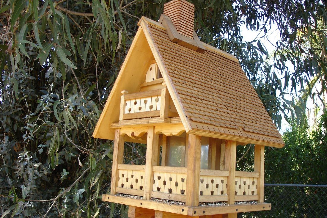 bird feeder large bird feeders plans - Big Bird House Plans
