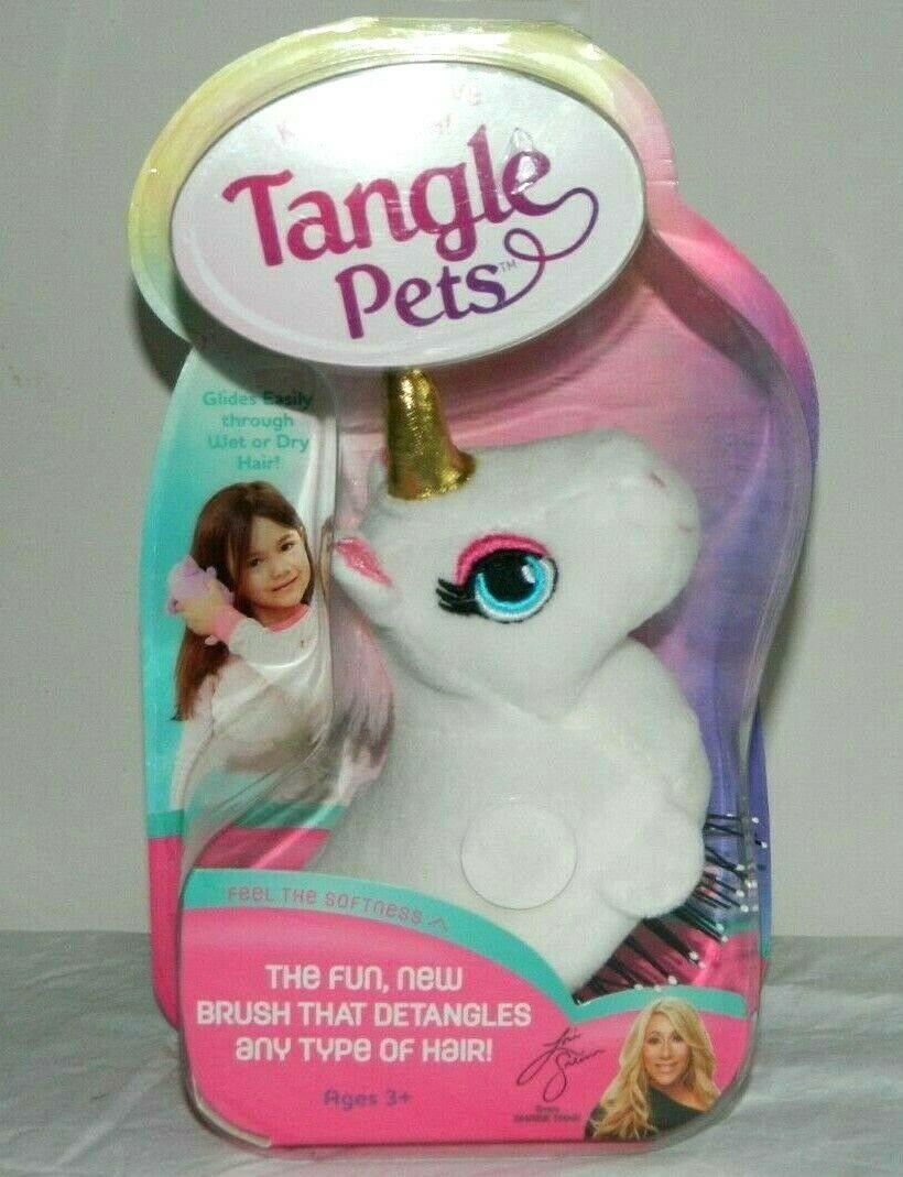 Tangle Pets SPARKLES THE UNICORN The Detangling Hair Brush