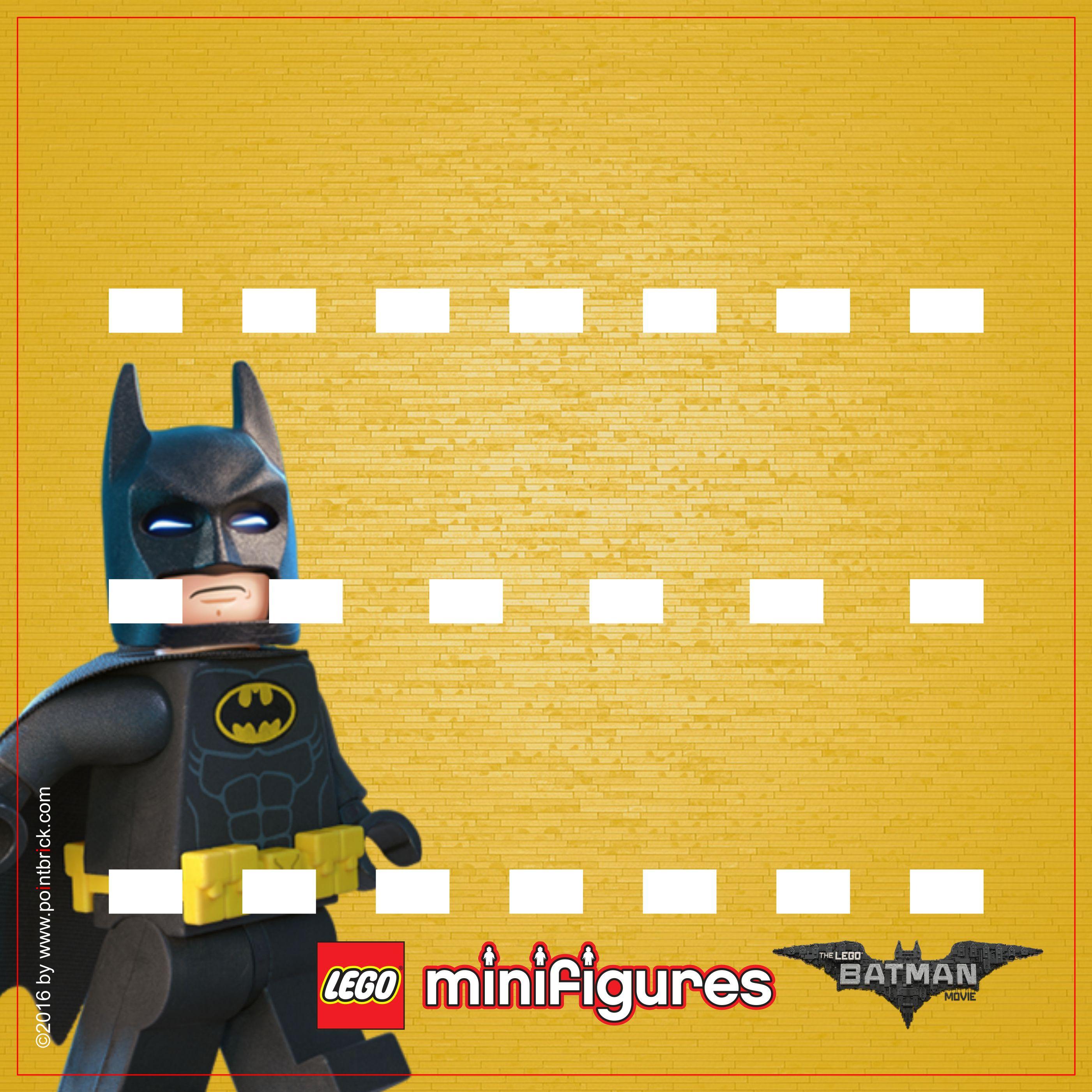 LEGO Minifigures Display: Sfondi LEGO BATMAN MOVIE | Pinterest | Plantas