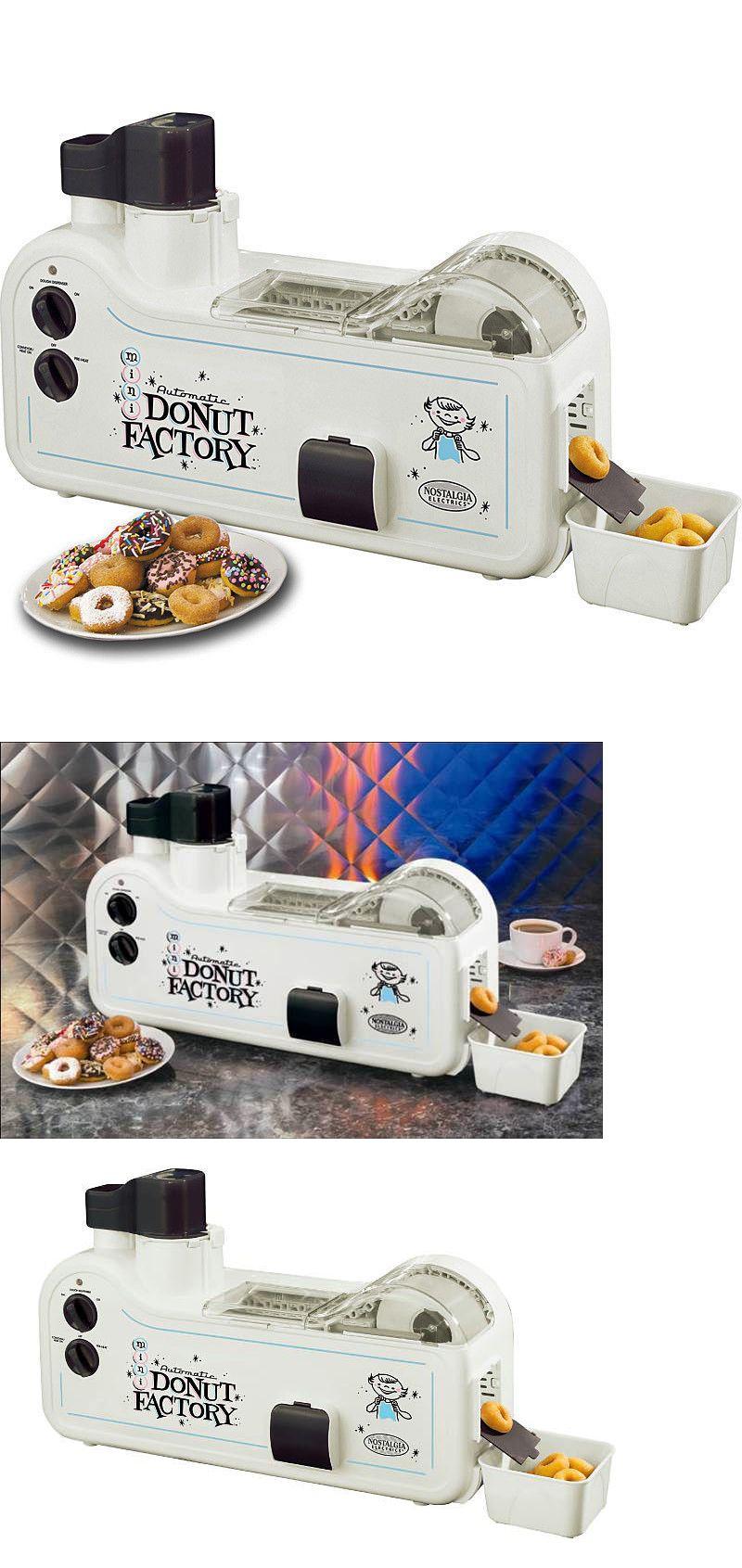 Other Small Kitchen Appliances 20685: Mini Donut Maker Factory Nostalgia Electrics Automatic Doughnut Machine Mdf-200 -> BUY IT NOW ONLY: $192.09 on eBay!