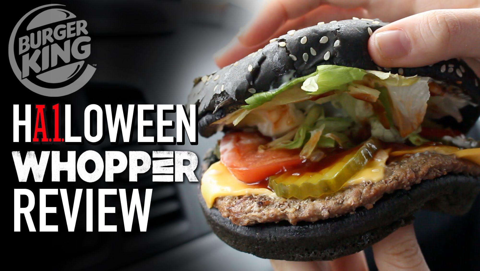 Burger King Halloween A1 Whopper Review | HellthyJunkFood | Food ...