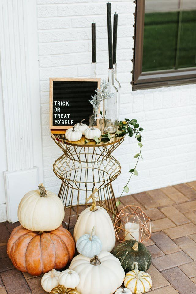 Trick Or Greet How To Style The Best Looking Halloween Door On