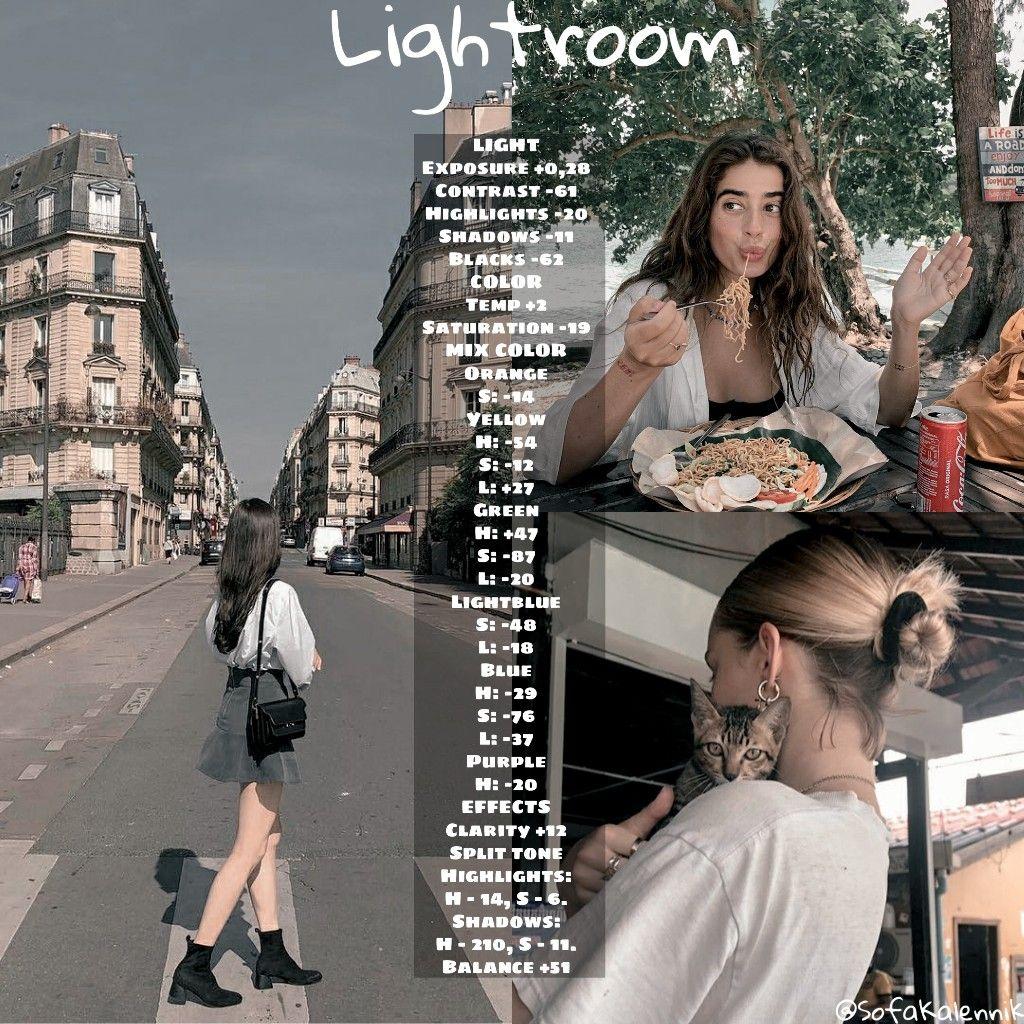 How to use vsco in lightroom