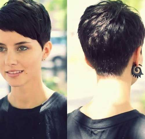 7.Pixie Cuts with Fringe