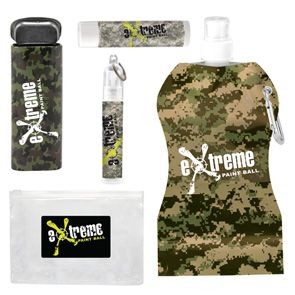 Camo Kit Green Camo Print On All Items Will Help Accent Your Logo