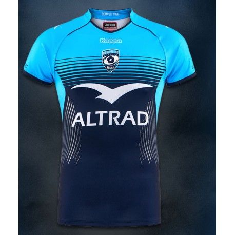 1e7a10ae6bf82 Maillot Rugby Montpellier Home Enfant 2017-2018   Kappa