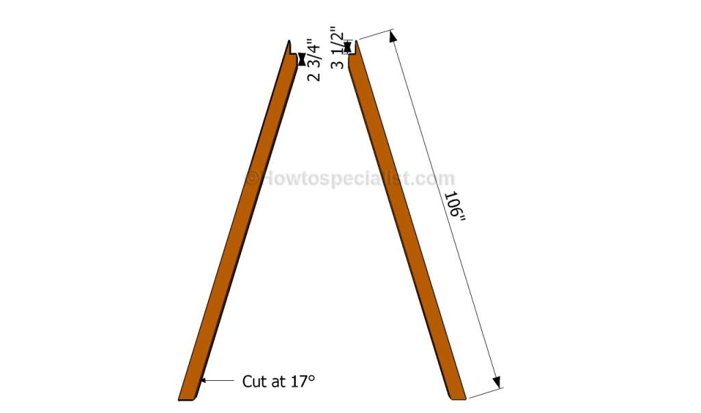 How to build an a-frame swing | A Frame | Pinterest | Swings and ...