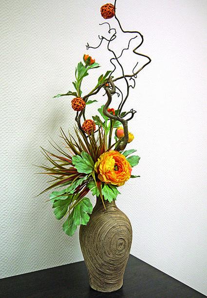 Красивые букеты и композиции из живых цветов (Фото) 49