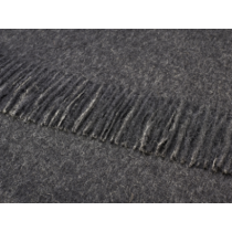 Alpacca Throw Charcoal