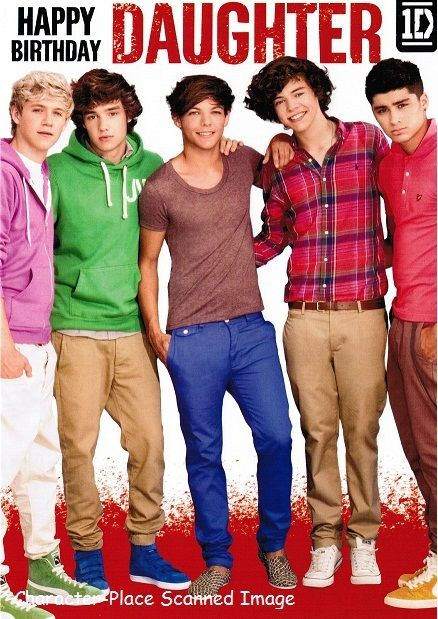 Happy birthday cards with one direction – One Direction Birthday Greeting
