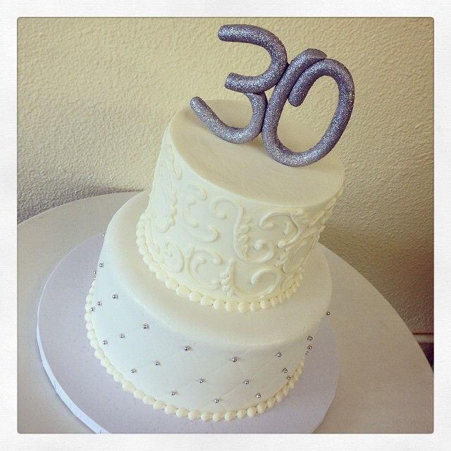 30th Birthday Cake By Stuffed Cakes StuffedCakes Custom
