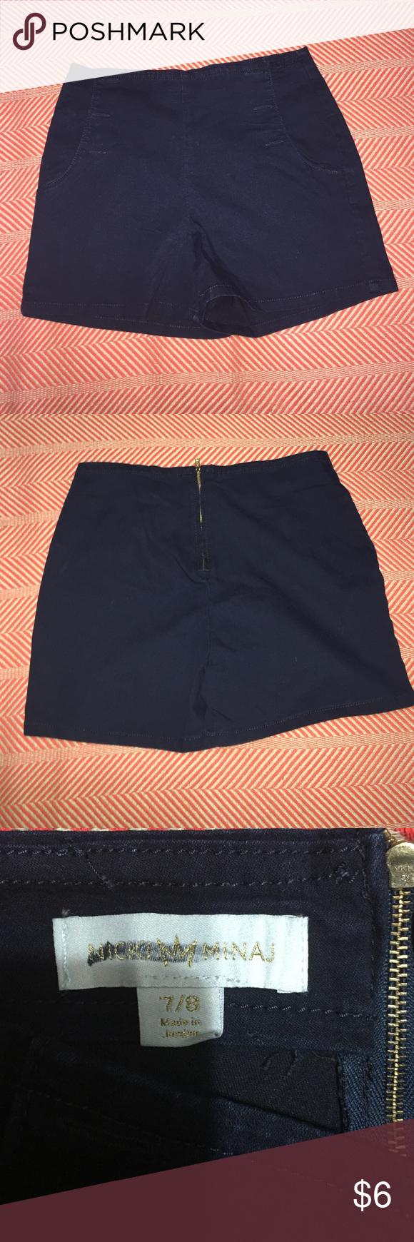 Nicki Minaj high waisted shorts New but without tag! Perfect for summer Nicki Minaj Shorts Jean Shorts