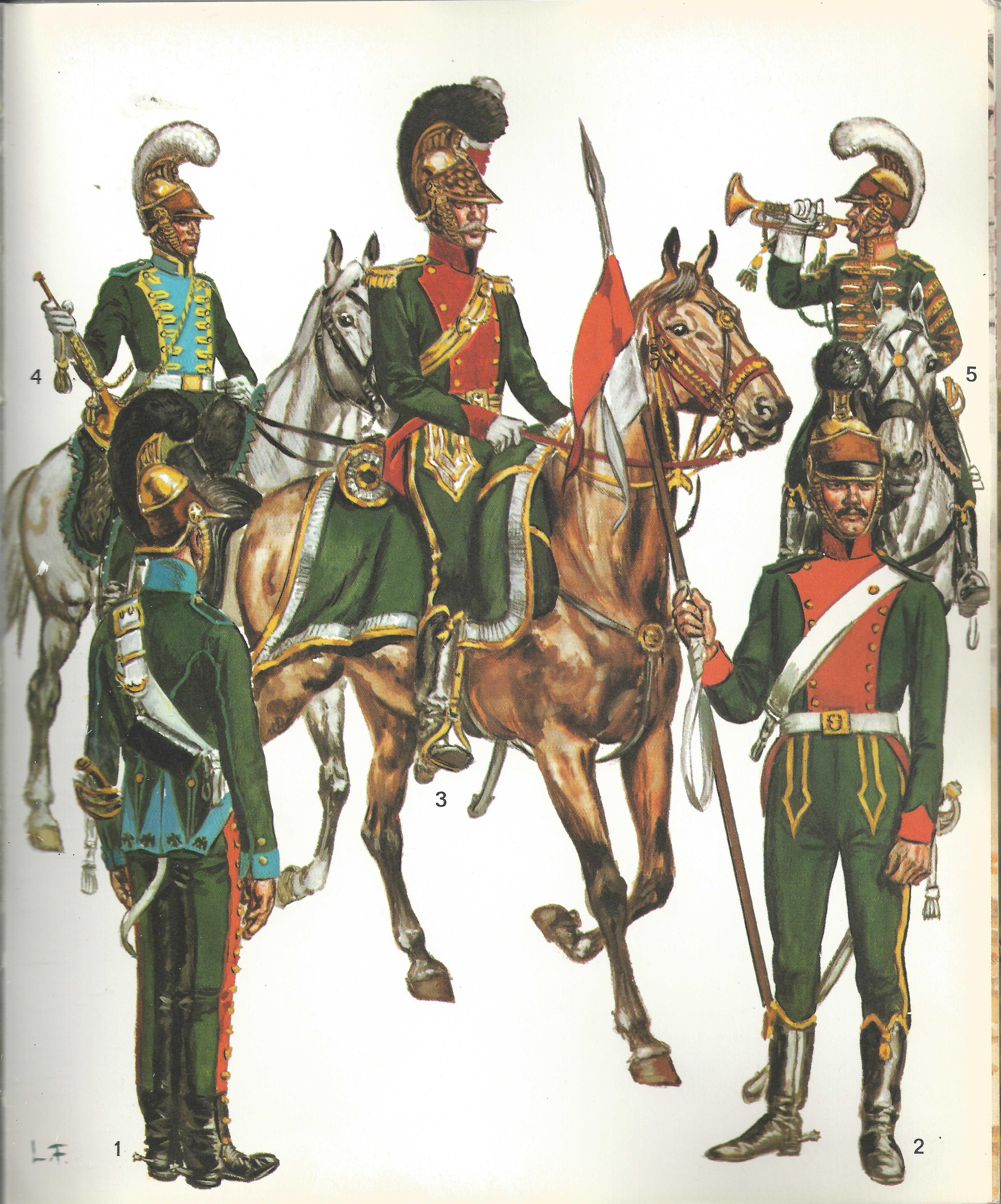 Dossier La Cavalerie Imperiale Cavalry Napoleonic Wars Historical Period