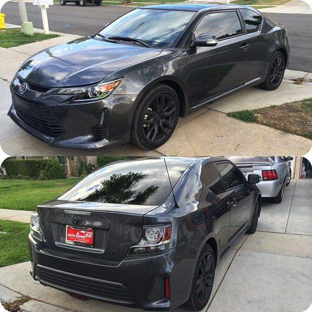 Sarah Clover On Instagram Windows Tinted And Logos Rims Dipped My Baby Is A Dime Scion Newcar Scion Tc New Cars Dream Cars