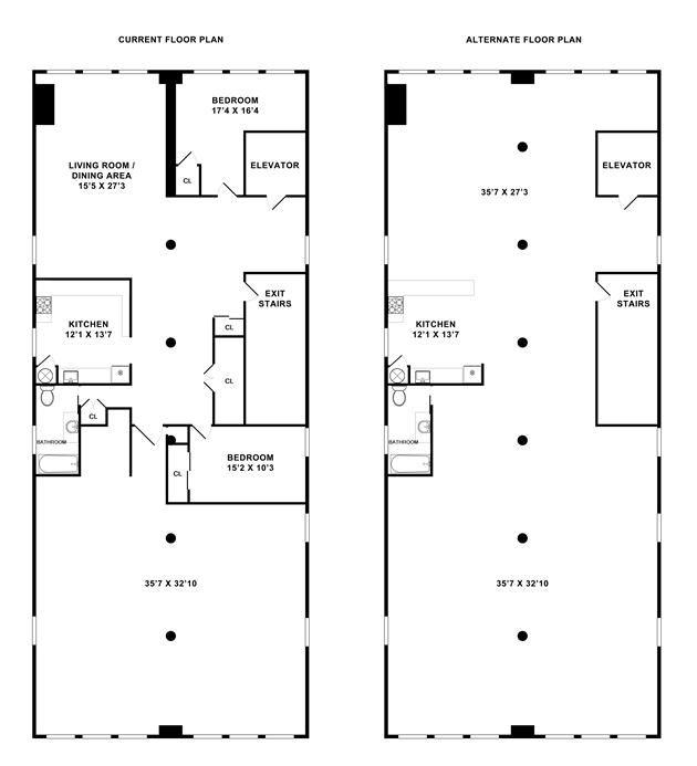 industrial loft floor plans Recherche Google Design intrieur 1
