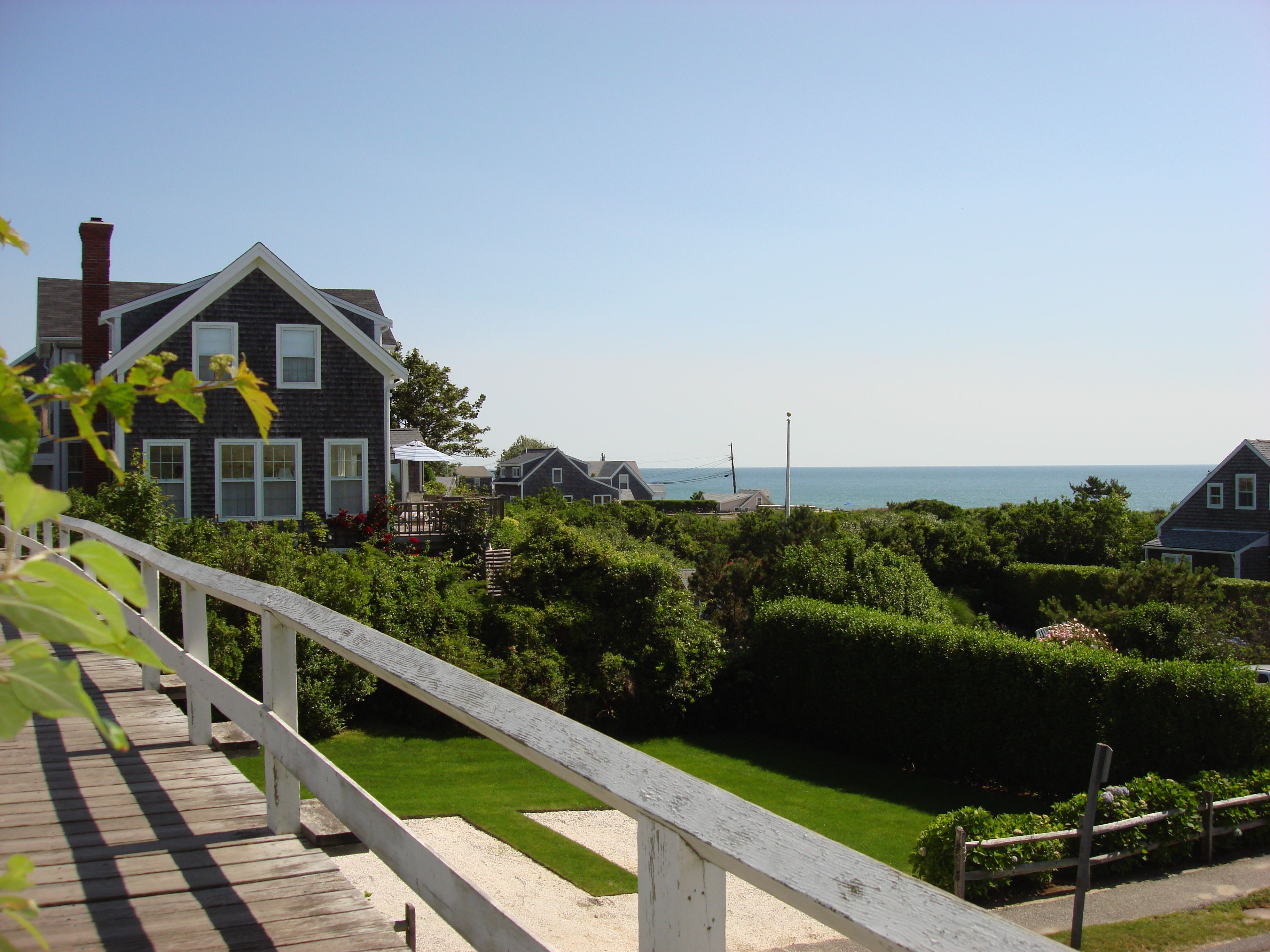 search nantucket home for cottage garden pin s her cottages gardens the by tudor tasha surrounded