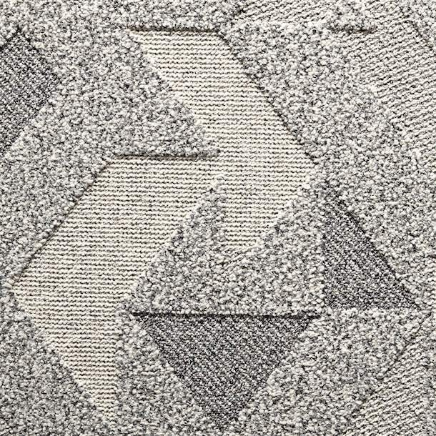 Monochrome Honeycomb Ivory Rug Textured Carpet Rugs Area Rugs