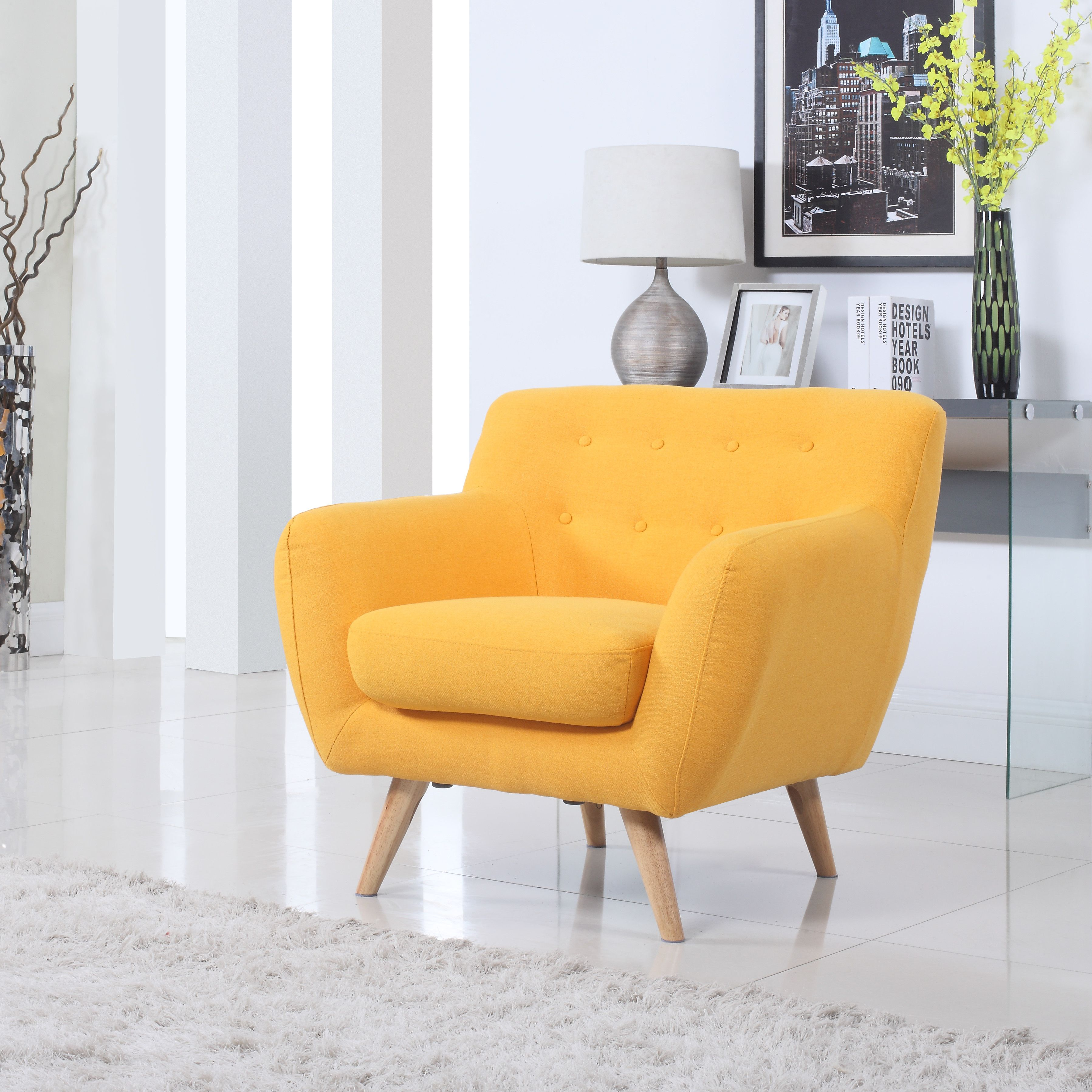 This mid century tufted club chairs is no longer available - Madison Home Usa Mid Century Modern Tufted Fabric Club Chair