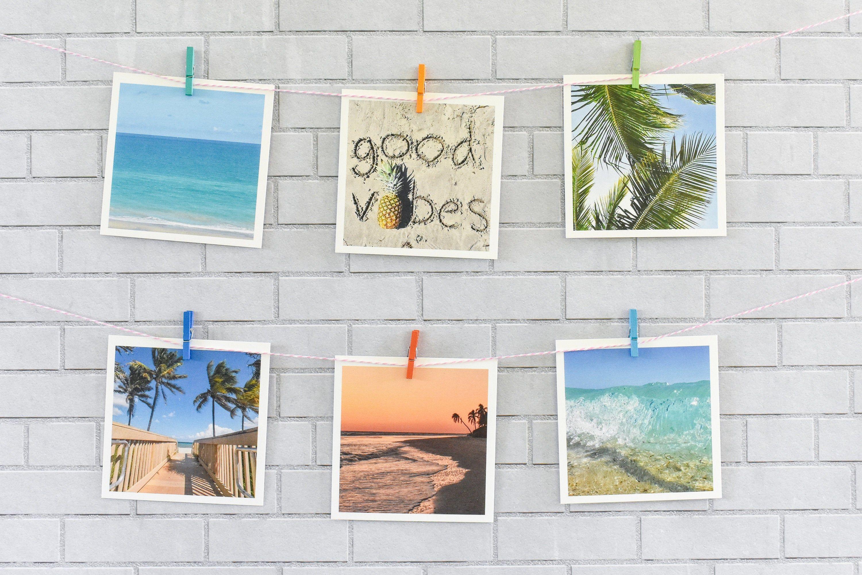 Good Vibes Print Mini Print Set Summer Photos Tropical Prints
