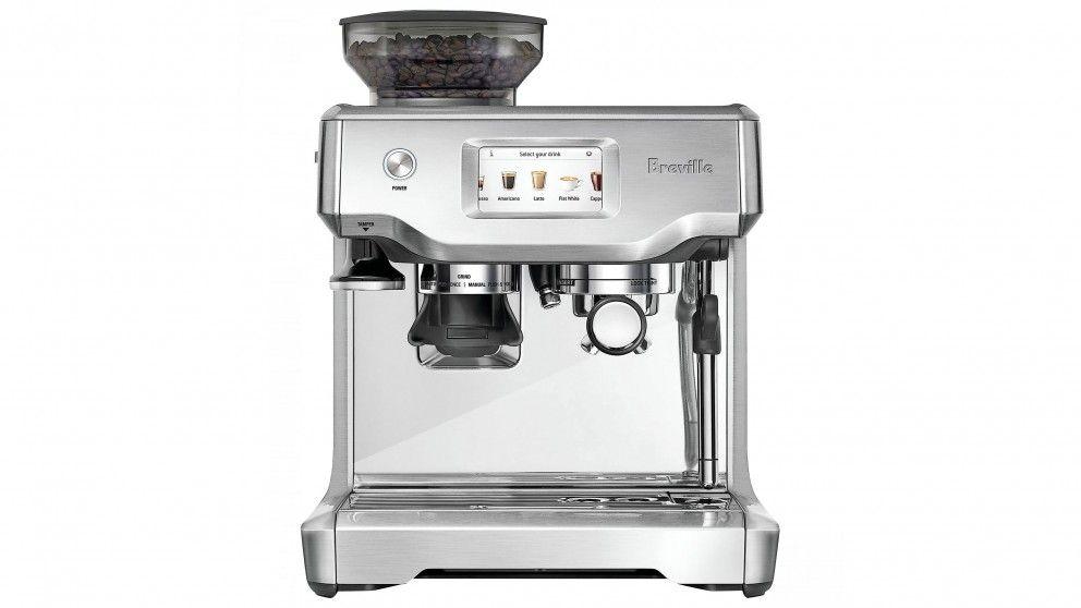 Breville barista touch espresso coffee machine stainless