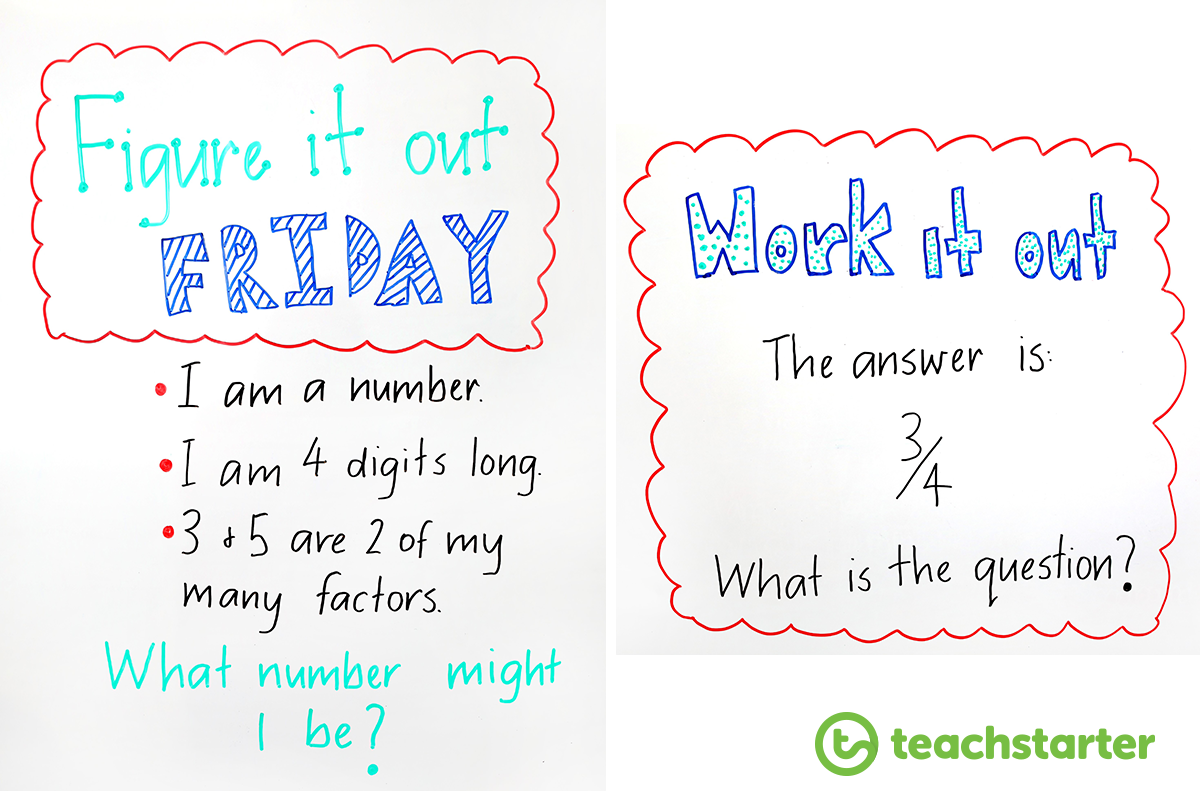 23 Quick And Easy Maths Warm Up Ideas For The Classroom