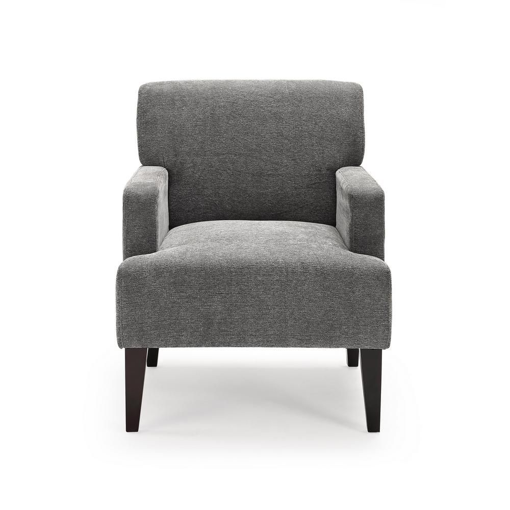Tux Charcoal Accent Chair Ac Tx Lc023 3d In 2020 Accent Chairs