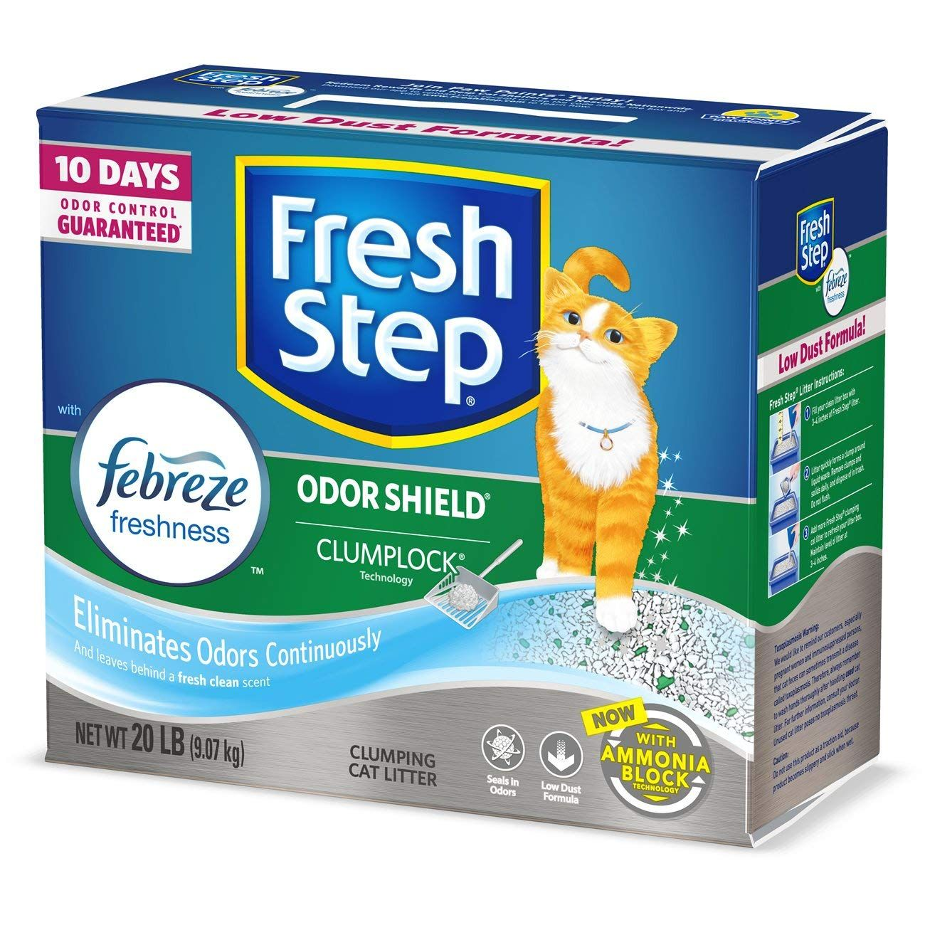 Fresh Step The Power Febreze Clumping Cat Litter Nice Of Your Presence To Drop By To See The Picture This I Clumping Cat Litter Cat Litter Cat Litter Odor