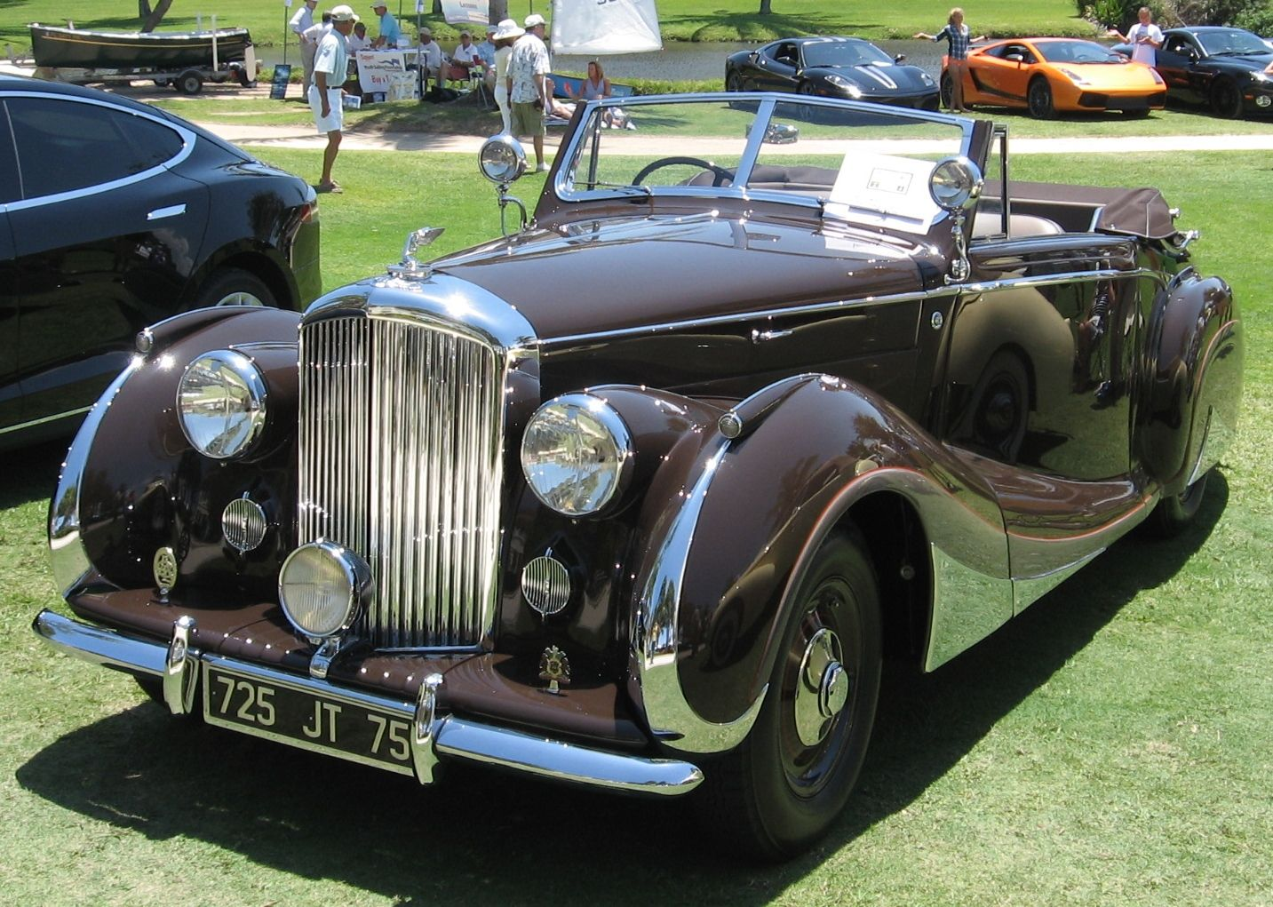 1947 Bentley Convertible By Franay Of Paris Photo B Toulgoat