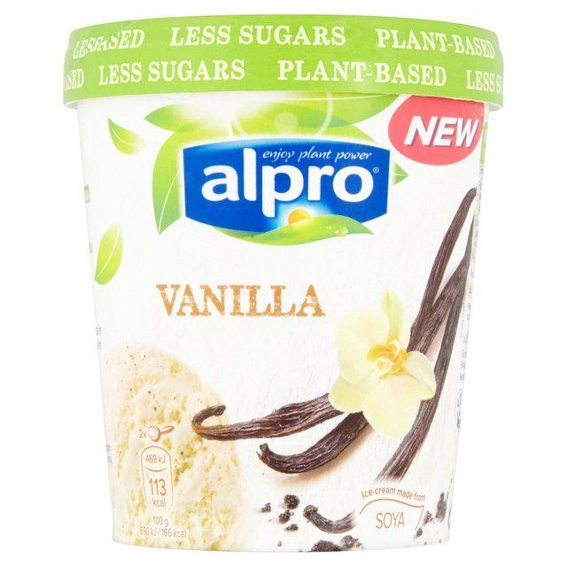 Alpro Vanilla Ice Cream In 2019
