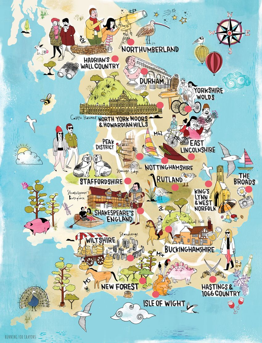 Illustrated map the English countryside for Time Out ... on australia illustration, london illustration, singapore illustration, tv illustration, chile illustration, italy illustration, thailand illustration, africa illustration, china illustration, dj illustration,