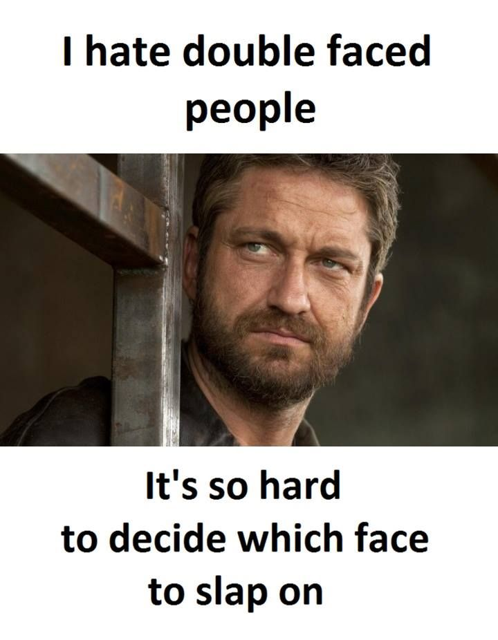 Double Faced People | Friends quotes funny, Fake friends ...