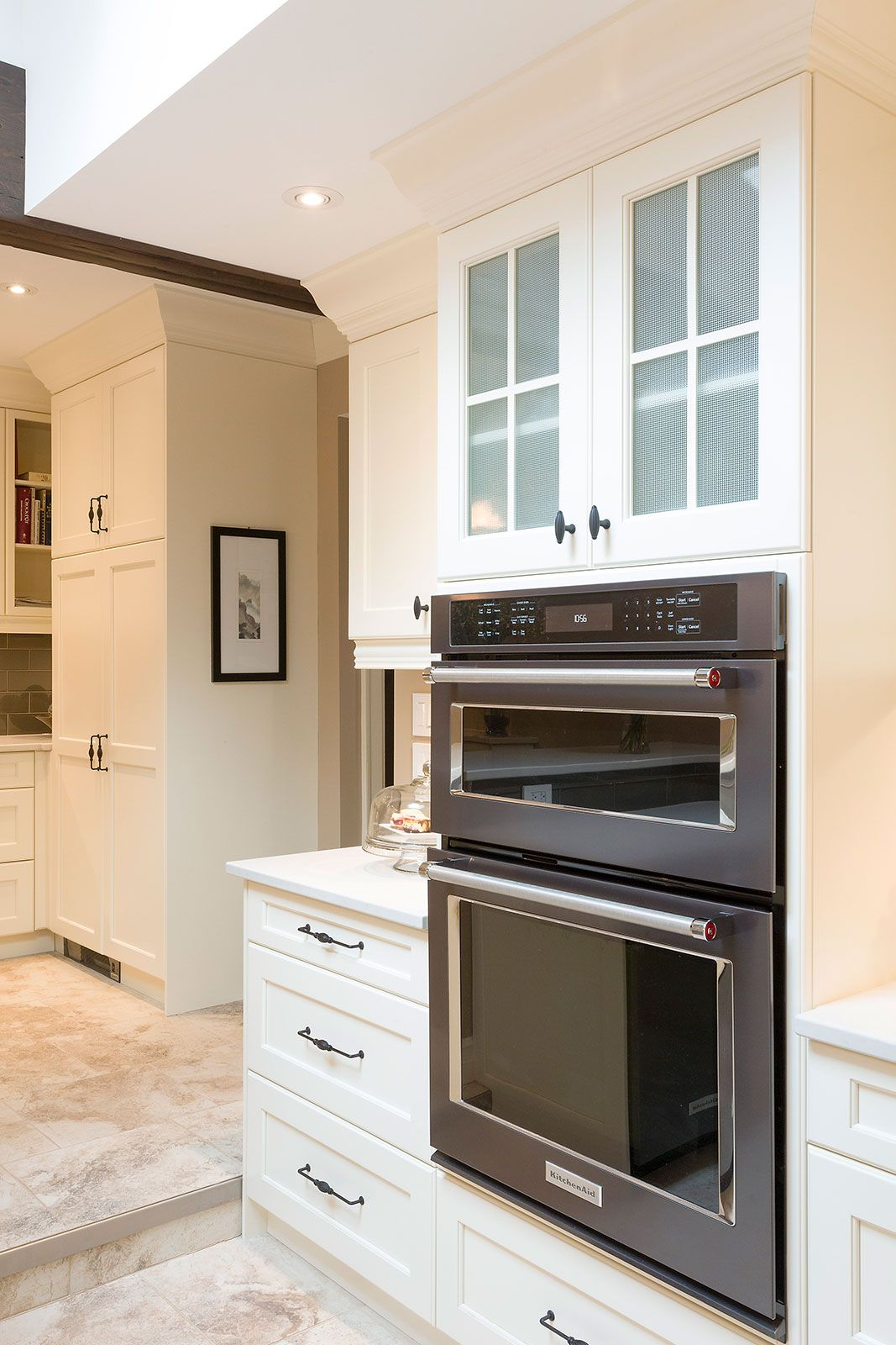 This Kitchen Situated In The Center Of The Home Was Dark And Void Of Direct Natural Sunlight Ther Kitchen Renovation Black Granite Countertops Gloss Cabinets