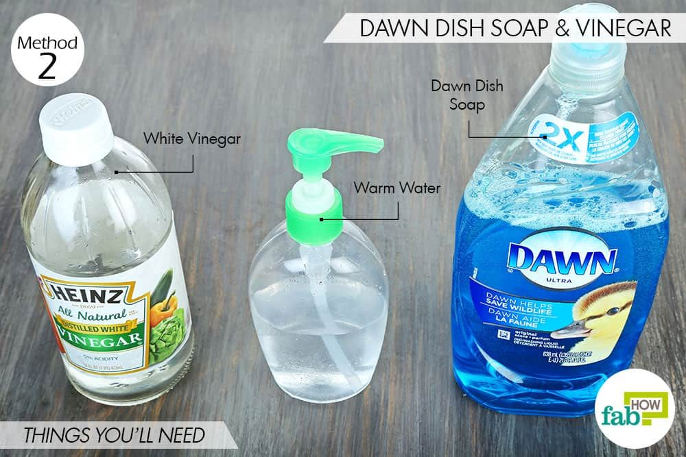 Things You Ll Need To Use Dawn Dish Soap And White Vinegar For Dog