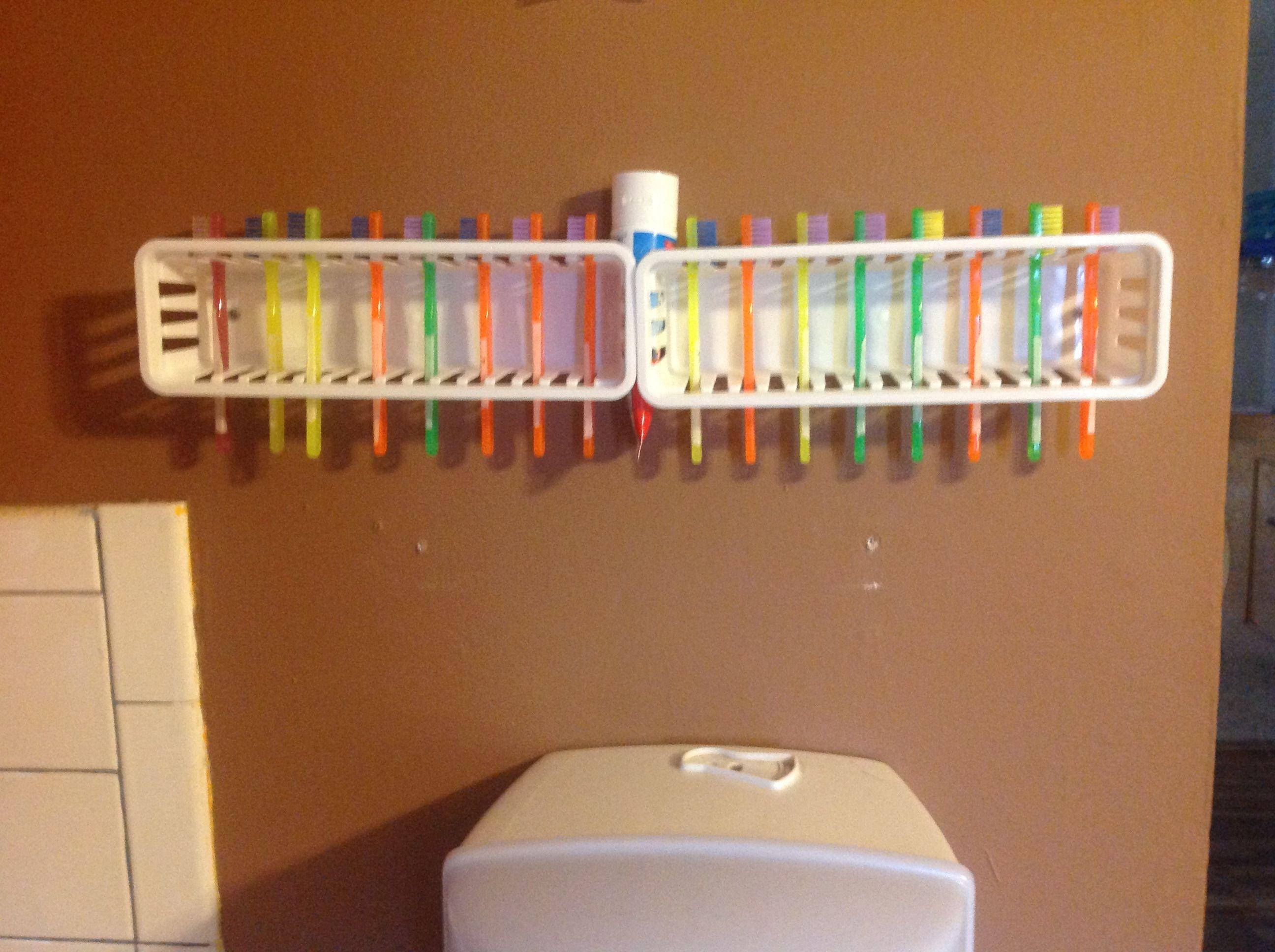 Tooth brush holders for children