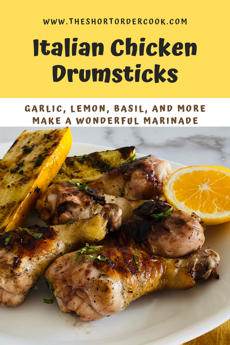 Italian Chicken Drumsticks Easy Chicken Recipes Quick Chicken Recipes Appetizer Recipes