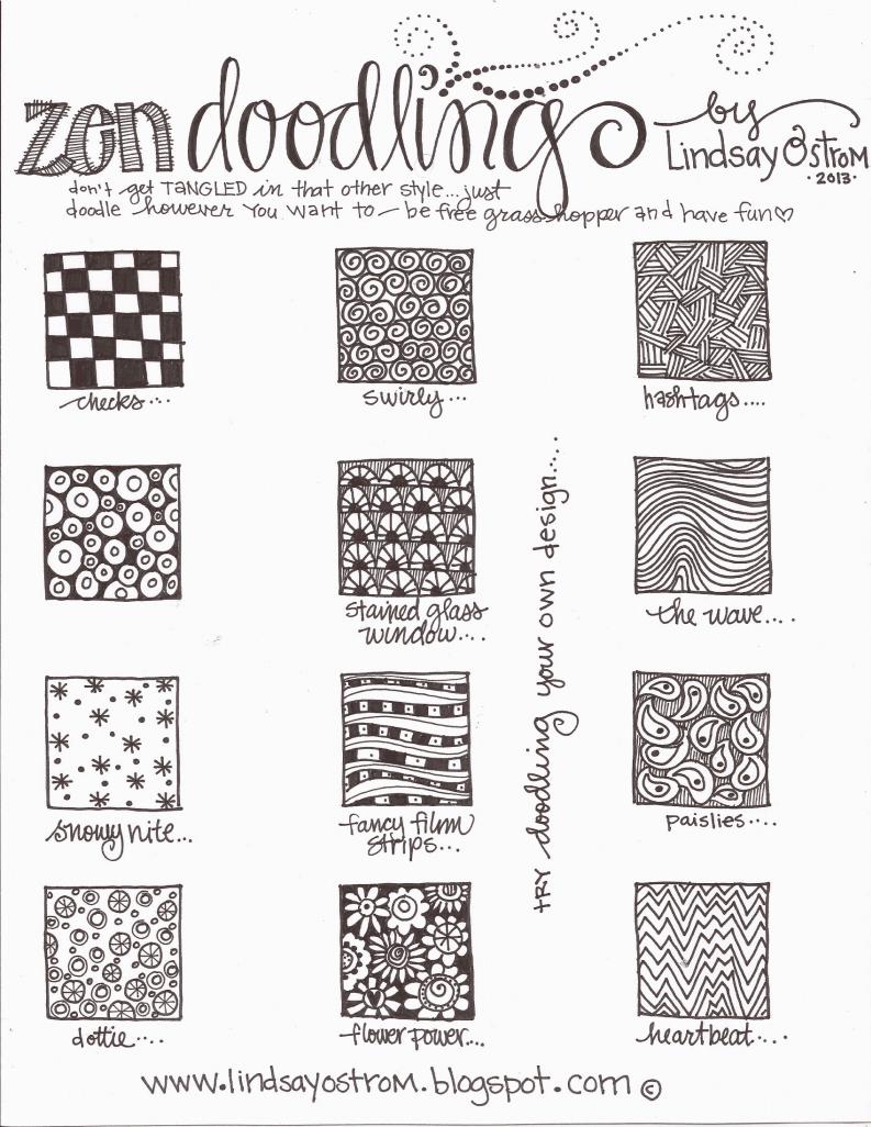 Zen Doodling Pdf Zen Doodle Patterns Zen Doodle Doodle Patterns