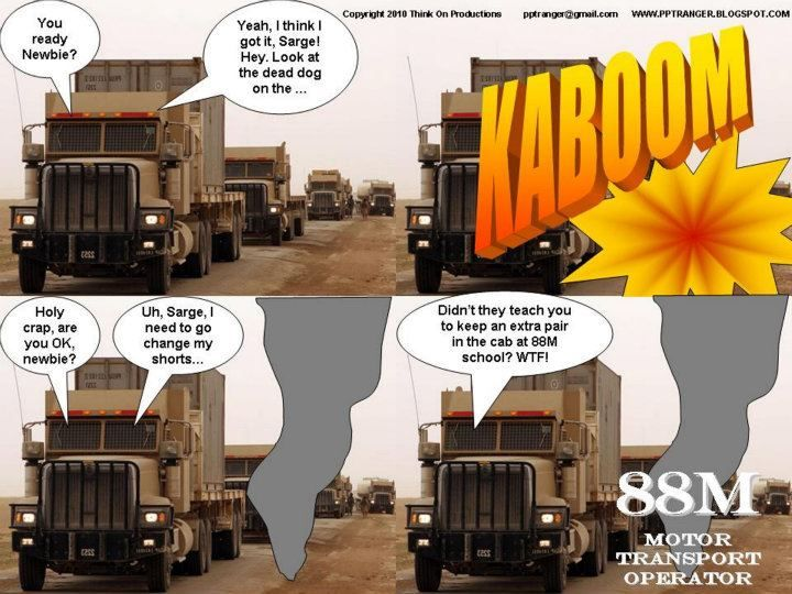 88M Motor Transport Operator Military and Veteran LOL Pinterest