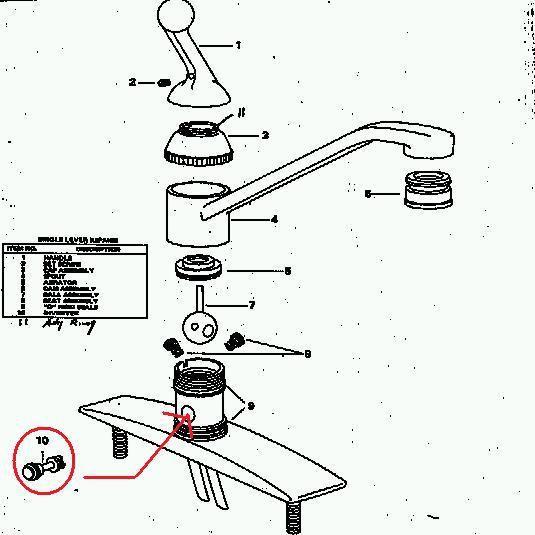 kitchen sink sprayer delta