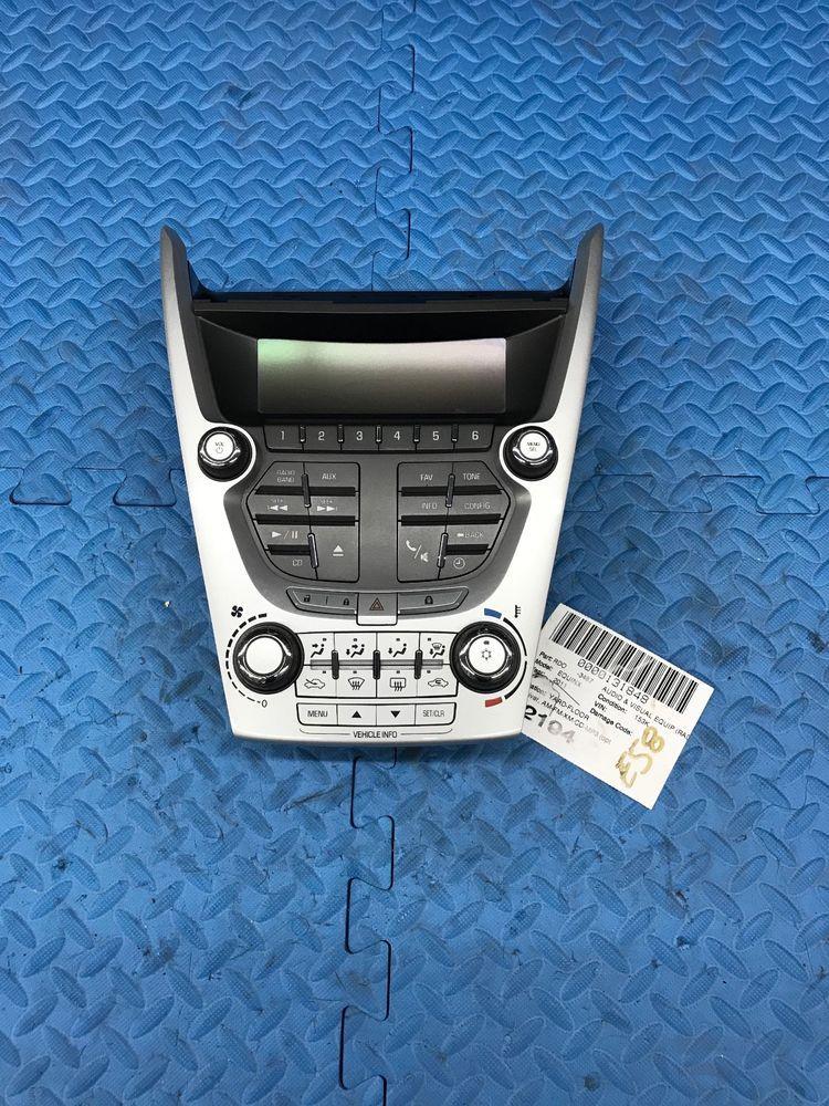 Oe Chevrolet Equinox Phone Radio Climate Control Switch Panel Screen 20920042 Gm Chevrolet Malibu Chevrolet Chevrolet Equinox