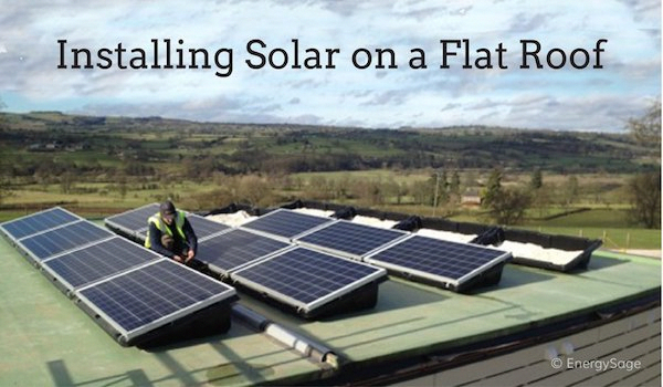 Solar Panels For Flat Roofs 3 Things You Should Know Energysage Solarenergy Solarpanels Solarpower Solar Panels Roof Residential Solar Panels Solar Panels