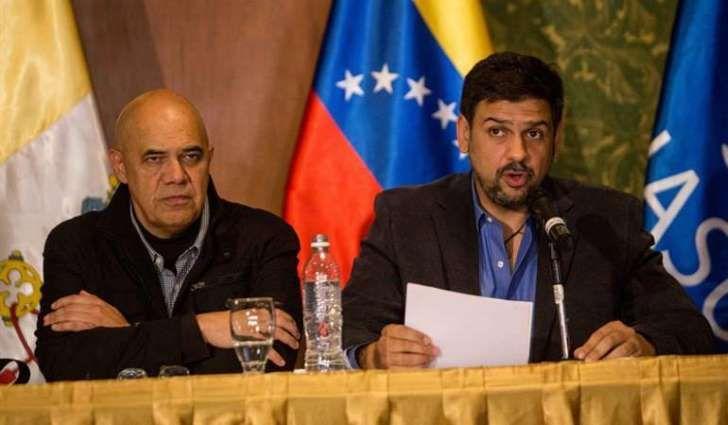 Resultado de imagen para dialogo oposicion gobierno venezuela chavez