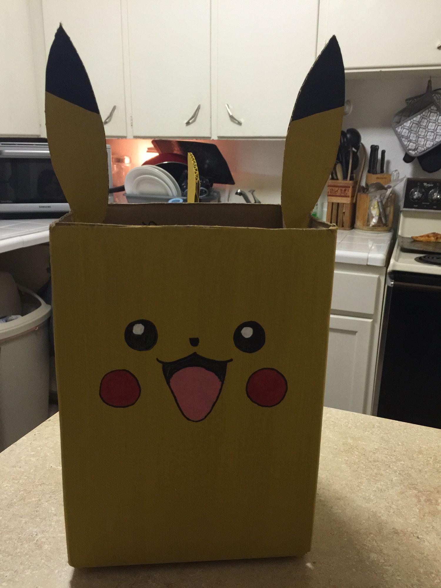 My son's valentines box